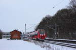 442 303 DB Regio in Michelau/ Oberfranken am 15.01.2017.