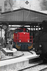 Colorkey-Foto von AVG 461 // Bahnhofsfest in Bad Herrenalb // 13.