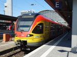 HLB Stadler Flirt 429 547 am 17.08.16 in Frankfurt am Main Hbf