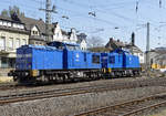 204 033-9 und 012-4 von PRESS in Remagen - 20.04.2019