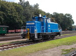 Die PRESS 363 029,am 20.August 2016,in Putbus.