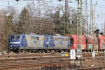 RBH 265 (151 024-7) mit RBH 276 (151 151-8) in Oberhausen-West 22.2.2018