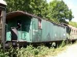 Absolut historisch ist diese Aufnahme vom 25.07.2006 im Bahnhof Karnin auf Usedom.