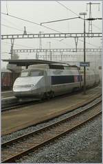 TGV Lyria von Paris nach Bern in Travers.