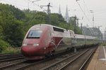 Thalys 4341 in Köln Messe/Deutz, am 30.05.2016.