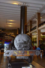 The Rocket  von George und Robert Stephenson im Science Museum London (September 2013)