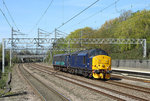 37422 passes Tamworth whilst working 5Z59, the 1015 Crewe-Norwich ECS, 4 May 2016