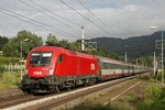 1016 018 mit EN234 in Oberaich am 21.06.2016.