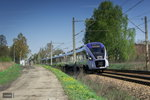 ED161-003 der PKP Intercity am 17.04.2016 in Tychy(Tichau).