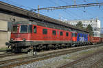 Refit Re 620 029-9 (Re 6/6 11629)  INTERLAKEN  und Re 620 016-6 (Re 6/6 11616)  ILLNAU-EFFRETIKON  als DOPPELPACKET nach Gerlafingen.