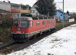 Re 620 070-3  AFFOLTER AM ALBIS  als Lokzug bei Biberist am 20.
