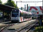 FW - Triebwagen ABe 4/8  7001 in Will am 05.09.2013