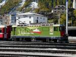 RhB - Ge 4/4  630 in Samedan am 18.10.2013