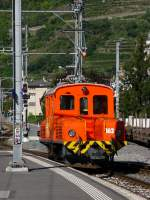 RhB - Rangierlok Ge 2/2  162 in Tirano am 15.09.2010