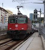 SBB Re 420 227+230 LION kam am 13.