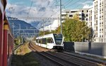 S12 24261 mit 526 776-0 in Chur Wiesental. (19.10.2016)