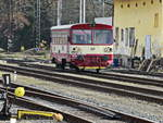 810 041-4 mit dem Os 17206 nach As mesto am 20.Februar 2019 in Franzensbad.