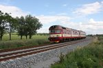Am 14.06.2016 kam bei Krizanovice VT 854824 als SP 1728 n.