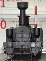 Die Dampflokomotive  Kladno  im Technischen Nationalmuseum Prag (September 2012)