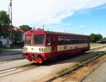 CD 810 236-0 in Bf. Hostivice am 5.9.2015