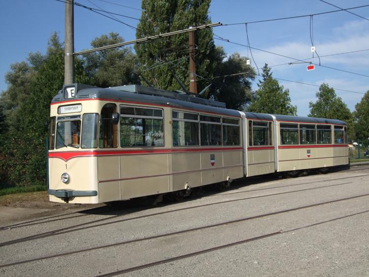 Triebwagen 1 Gothawagen Der Rostocker Nahverkehrsfreunde