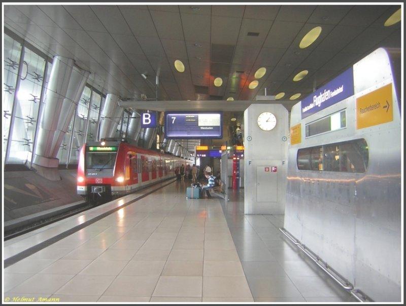 Bahnhof Frankfurt Am Main Flughafen Fotos 3 Bahnbilder De