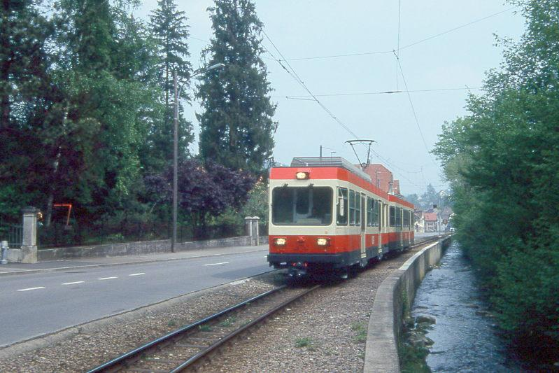 wb regionalzug 34 von liestal nach waldenburg am in niederdorf mit triebwagen bde 4 4. Black Bedroom Furniture Sets. Home Design Ideas